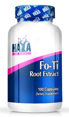 Haya Labs Fo - Ti Root Extract 100 capsules / Хая Лабс Фо - Ти Екстракт 100 капсули