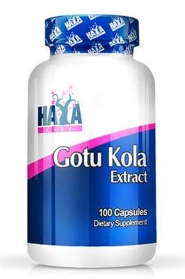 Haya Labs Gotu Kola Extract 100 capsules / Хая Лабс Готу Кола Екстракт 100 капсули