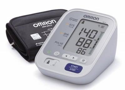 Digital device for measuring blood pressure Omron M3 IT / Електронен апарат за измерване на кръвно налягане Омрон М3 IT