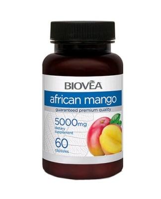Biovea African mango 5000 mg. 60 capsules / Биовеа Африканско манго 5000 мг. 60 капсули