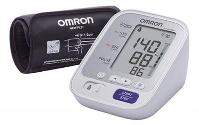 Digital device for measuring blood pressure Omron M3 Comfort / Електронен апарат за измерване на кръвно налягане Омрон М3 Comfort