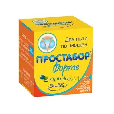 Prostabor Forte 30 capsules / Простабор Форте 30 капсули, Брой капсули: 30