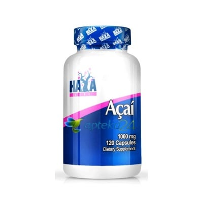 Haya Labs Acai 1000 mg. 120 capsules / Хая Лабс Акай 1000 мг. 120 капсули