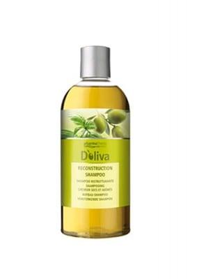 Doliva reconstruction shampoo with wasil 500 ml. / Долива съживяващ шампоан с босилек 500 мл.