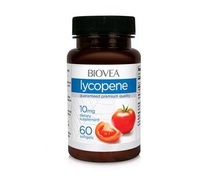 Biovea lycopene 10 mg. 60 capsules / Биовеа ликопен 10 мг.