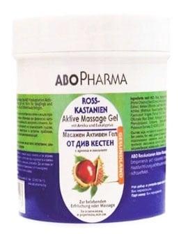 Abopharma Horse Chestnut Message Gel 250 ml. / Абофарма Активен Масажен Гел от Див кестен с Арника и Евкалипт 250 мл.