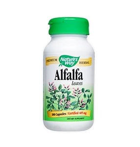 Alfalfa 405 mg. 100 capsules Nature's Way / Алфалфа люцерна 405 мг. 100 капсули Nature's Way