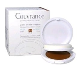 Avene Couvrance Compact Foundation Cream Mat effect SPF 30 05 Bronze / Авен Кувранс Компактна крем - пудра с матиращ ефект SPF 30 - 05 Бронз