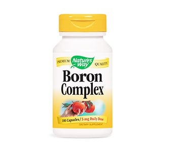 Boron complex 100 mg. 3 capsules Nature's Way / Бор капсули 100 мг. 3 бр. Nature's Way