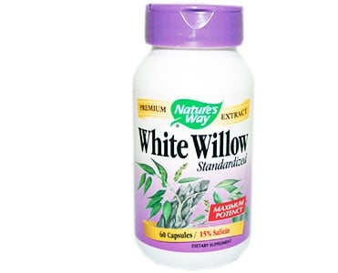 White willow 450 mg. 60 capsules Nature's Way / Бяла върба кора 450 мг. 60 капсули Nature's Way
