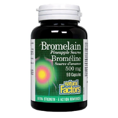 Bromelain 500 mg. 90 kapsules / Бромелайн екстракт 500 мг. 90 капсули