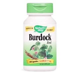 Burdock 475 mg. 100 capsules Nature's Way / Репей 475 мг. 100 капсули Nature's Way