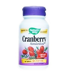 Cranberry 430 mg. 60 tablets Nature's Way / Червена боровинка 430 мг. 60 таблетки Nature's Way