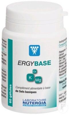 Ergybase 60 capsules Nutergia / Ержибаза 60 капсули