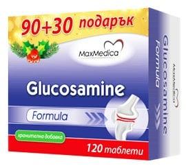 MaxMedica Glucosamine Formula 120 tablets / Максмедика Глюкозамин формула 120 таблетки
