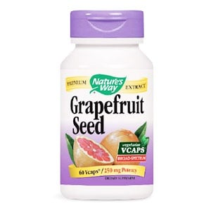 Greapefruit seed 250 mg. 60 capsules Nature's Way / Грейпфрут семена 250мг. 60 капсули Nature's Way