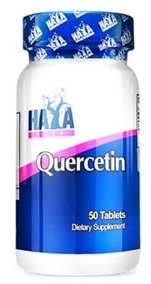 Haya Labs Quercetin 500 mg. 50 tablets / Хая Лабс Кверцетин 500 мг. 50 броя таблетки