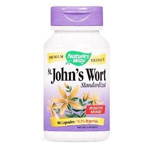 St. Johns wort 420 mg. 90 capsules Nature's Way / Жълт кантарион 420 мг. 90 капсули Nature's Way.