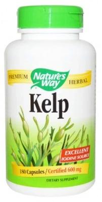 Kelp 660 mg. 180 capsules Nature's Way / Келп кафяви водорасли 660 мг. 180 капсули Nature's Way