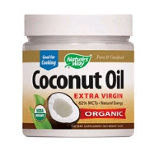 Coconut oil 474 ml. Nature's Way / Кокосово масло 474 мл. Nature's Way
