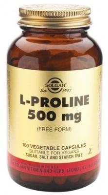 Solgar L- Proline 500 mg. 100 capsules / Солгар L- Пролин 500 мг. 100 капсули