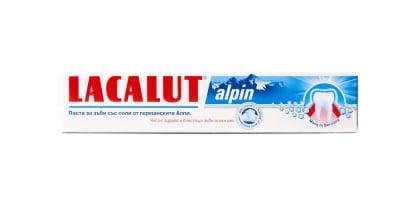 Lacalut Alpin toothpaste 75 ml. / Паста за зъби Лакалут Alpin 75 мл.