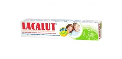 Lacalut kids toothpaste / Паста за зъби Лакалут kids 4-8 г