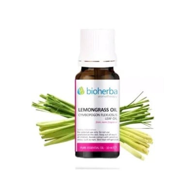 Bioherba essential lemongrass oil 10 ml. / Биохерба етерично масло от лимонена трева 10 мл.