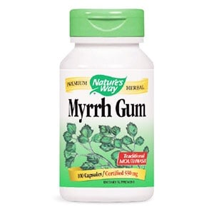 Myrrh Gum 550 mg. 100 capsules Nature's Way / Смирна / Смола 550 мг. 100 капсулес Nature's Way