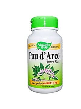 Pau darco 545 mg. 180 capsules Nature's Way / Мравчено дърво 545 мг. 180 капсули Nature's Way