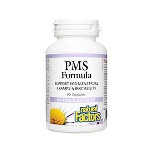 PMS formula 330 mg. 90 capsules Natural factors / ПМС формула 330 мг. 90 капсули Натурал факторс