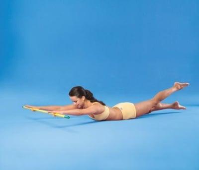 6 упражнения с пръчка - за отлична фигура