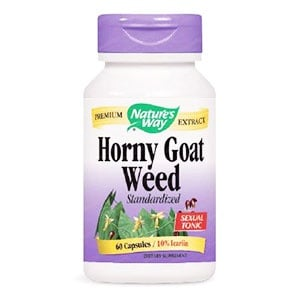 Horny Goat Weed 500 mg. 60 capsules Nature's Way / Епимедиум 500 мг. 60 капсули Nature's Way