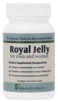 Royal Jelly 60 softgels Fairhaven Health / Пчелно млечице 60 броя капсули Fairhaven Health