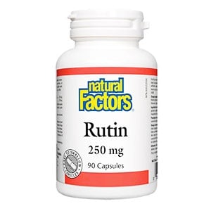 Rutin 250 mg. 90 capsules Natural factors / Рутин 250 мг. 90 капсули Натурал факторс