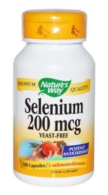 Selenium 200 mcg. 100 capsules Nature's Way / Селен 200 мкг. 100 капсули Nature's Way