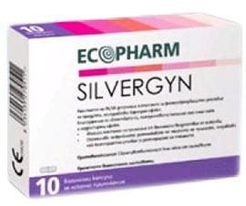 Silvergyn Plus vaginal capsules 10 / Силвержин Плюс 10 броя вагинални капсули