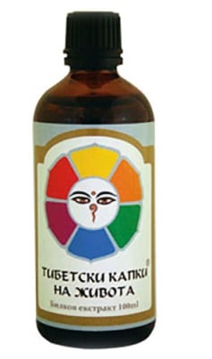 Tibetan drops of life with propolis tinctura 100 ml. / Тибетски капки на живота с прополис тинктура 100 мл.