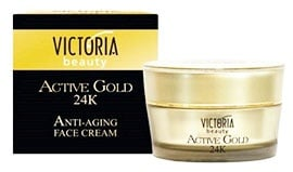 Victoria beauty Active Gold anti - ageing cream 50 ml. / Виктокия бюти Актив Голд дневен крем за лице против бръчки 50 мл.