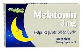 Melatonin 30 mg. 3 tablets Phyto Wave / Мелатонин 30 мг. 3 таблетки Phyto Wave