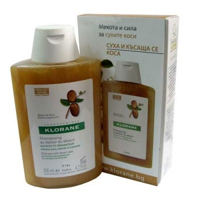 Kloran nourishing and repairing shampoo with desert datte-palm 200 ml / Клоран възстановяващ шампоан с пустинна фурма 200 мл