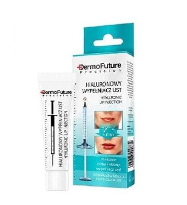 Dermofuture intensive hyaluronic lip injection 12 ml / Дермофючър филър за устни с хиалуронова киселина 12 мл