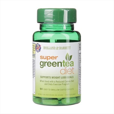 Super green tea diet 60 tablets Holland & Barrett / Супер зелен чай диета 60 таблетки Holland & Barrett
