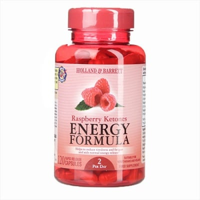 Raspberry ketones 120 capsules Holland & Barrett / Малинови кетони 120 капсули Holland & Barrett