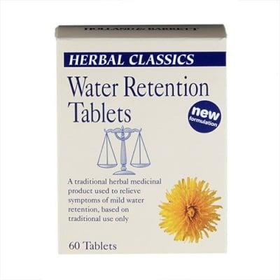 Water retention 60 tablets Holland & Barrett / Уотър ретеншън против задържане на вода 60 таблетки Holland & Barrett