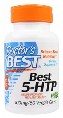 Doctor's Best 5 - HTP 100 mg 60 capsules / Доктор'с Бест 5 -  Хидрокситриптофан 100 мг. 60 капсули