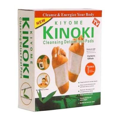 Detox Kinoki 10 cleansing foot pads / Детокс пластири за крака Киноки 10 пластира Китай