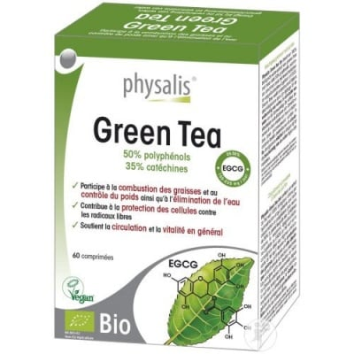 Physalis Green tea 60 tablets / Физалис Зелен чай 60 таблетки