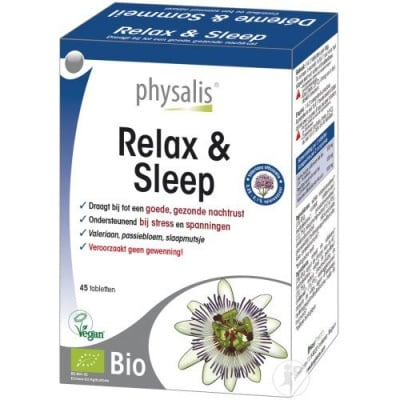 Physalis Relax and sleep 45 tablets / Физалис Релакс енд слийп 45 таблетки