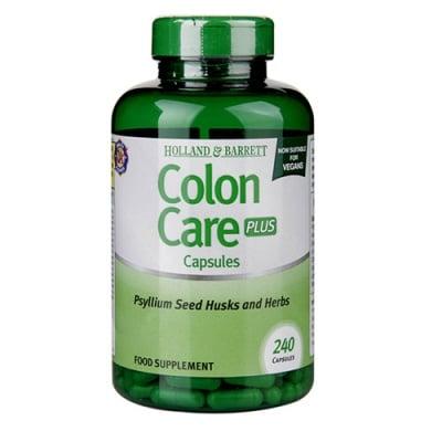 Colon care plus 240 capsules Holland & Barrett / Колон кеър плюс (грижа за дебелото черво) 240 капсули Holland & Barrett